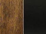 Rubbed Black/Pecan